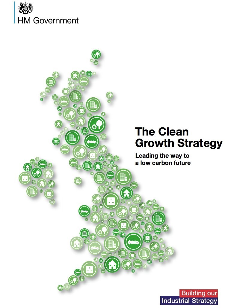 Clean Growth Strategy front page