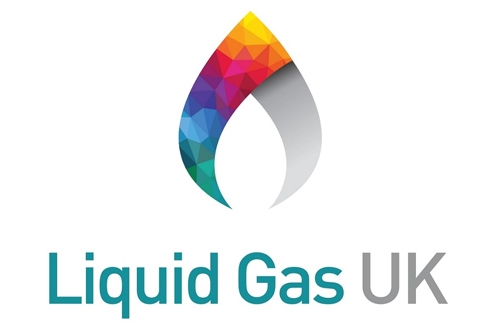 Liquid Gas UK logo with white border